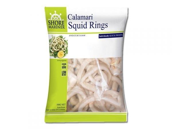 Squid rings 500g