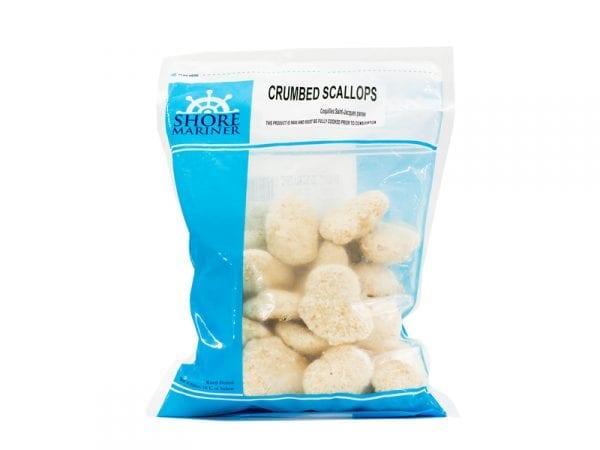 Crumbed scallops 1kg