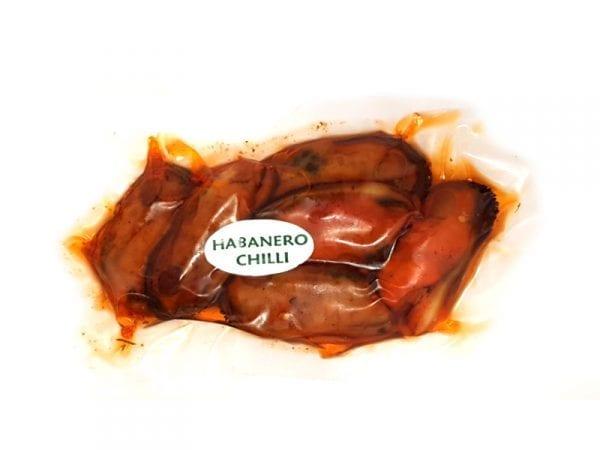 Smoked mussels habanero